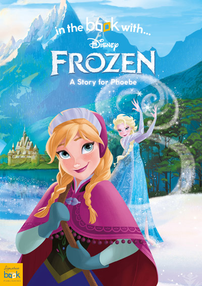 personalized disney frozen story book personally yours books